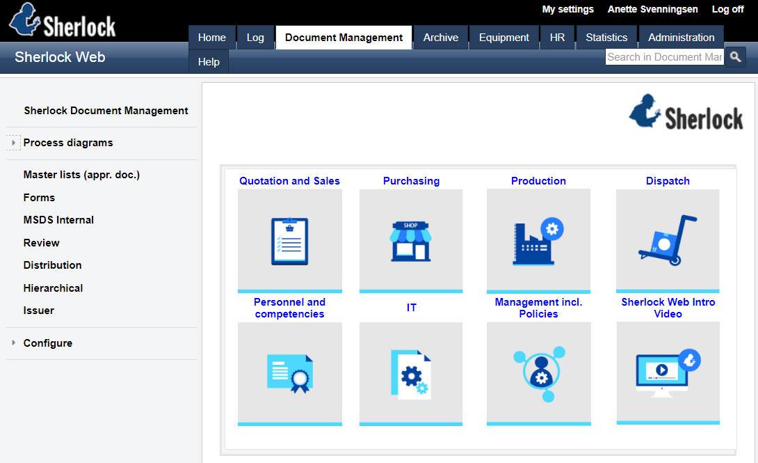 Document Management | Sherlock Web - Professional quality